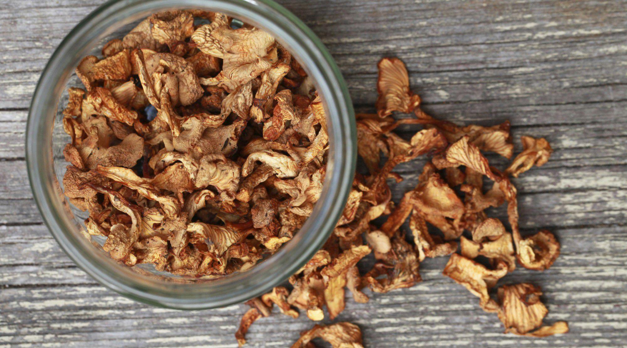 Как в домашних условиях посушить грибы
