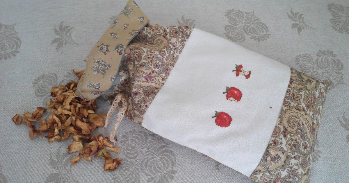 Хранение сушеных яблок в мешочке