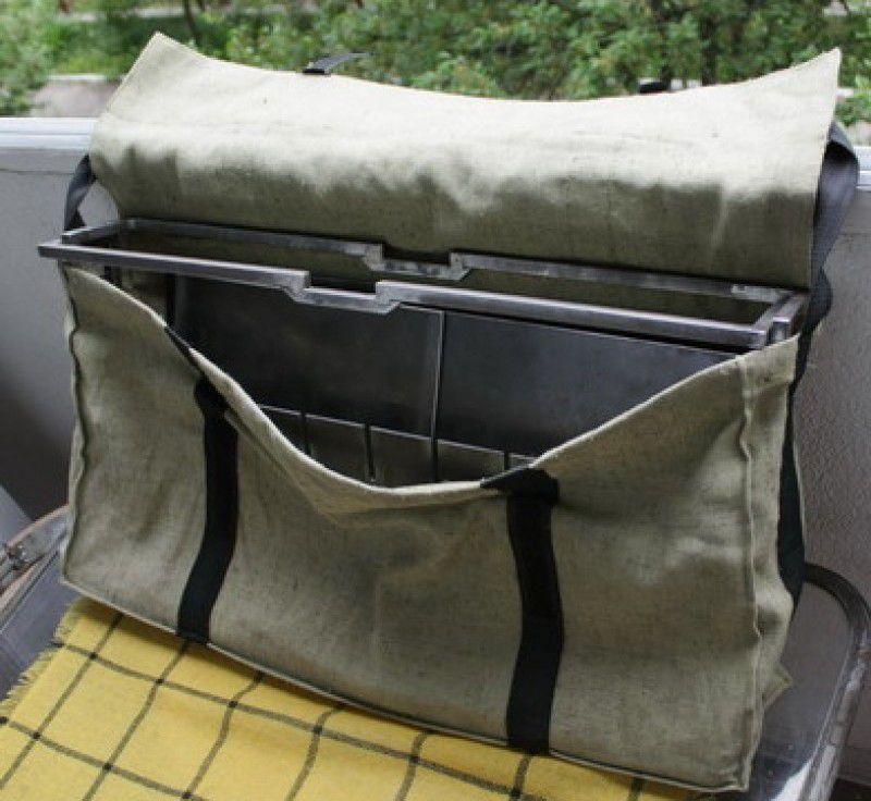 переносной кованый мангал с сумкой
