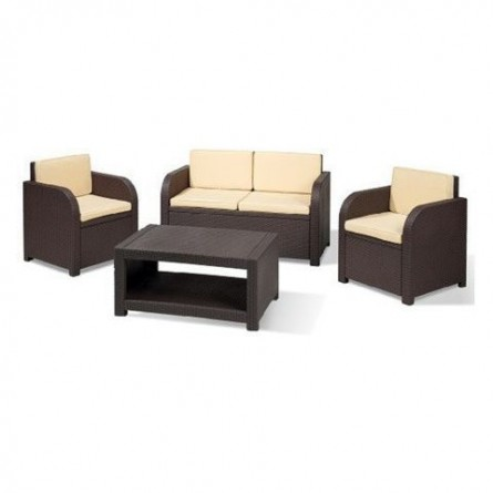 Allibert Modena set Lounge Brown