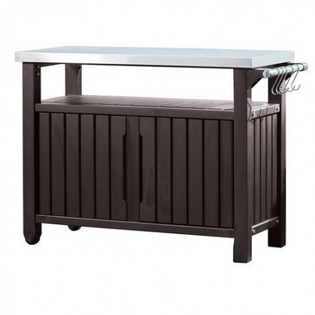Стол для гриля Keter UNITY XL Storage Buffet Brown