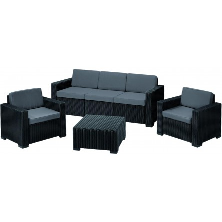 Allibert California 3 seater Graphite