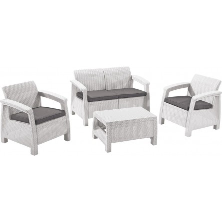 Allibert Corfu II set White