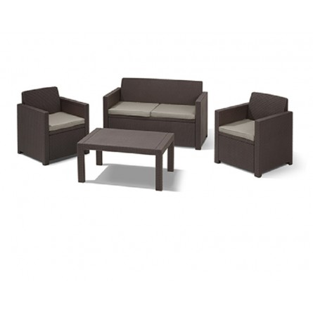 Allibert Merano set Lounge Brown