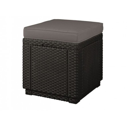 Стул Allibert Cube with cushion Graphite