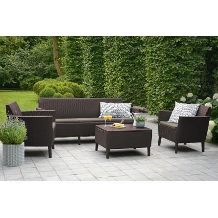 Садовая мебель Keter Salemo 3-seater set