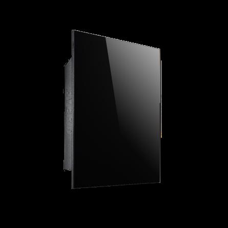 Настінна електрична панель опалювання Hybro Hybrid Black